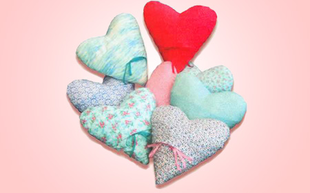 Project – Heart Cushions