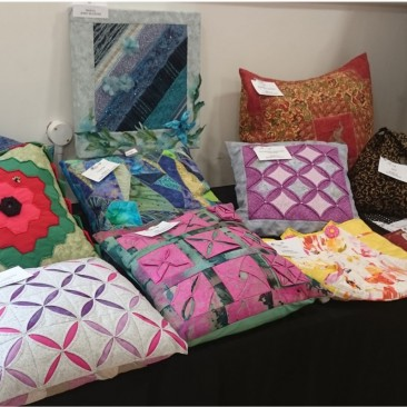 Cushion Covers and other small exhibits Sorry I failed to photograph the labels of these beautiful items