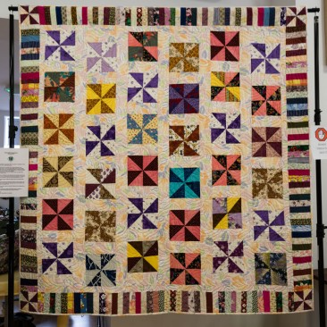 1st Prize in the Exhibition Raffle:- Made By Norfolk Quilters Young Quilters