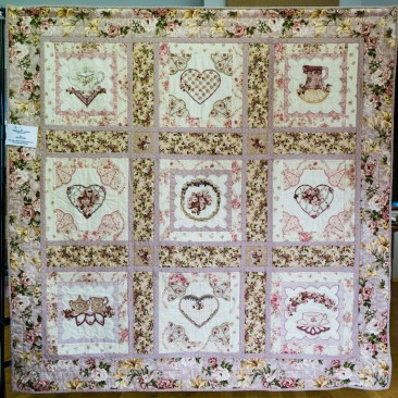 52:-Fairies In My Garden - Australia By Helen Nunn / This was a block of the month and I just liked the design.