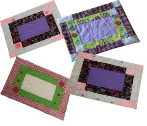 Placemats made by Young Quilters