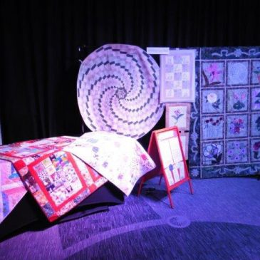 Norfolk Quilters Display at Makers Month