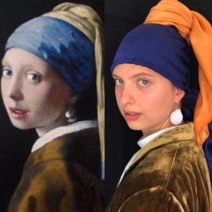 Adele Girl with a Pearl Earring